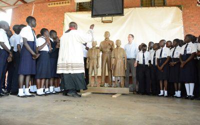 Inaugurazione della statua di padre Giovanni Scalabrini